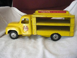 RARE Vintage Buddy L Toy Truck Coca Cola Metal USA