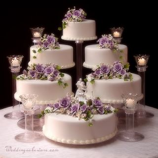 4 tier wedding cake stand stands 3 tier candle stands. Black Bedroom Furniture Sets. Home Design Ideas