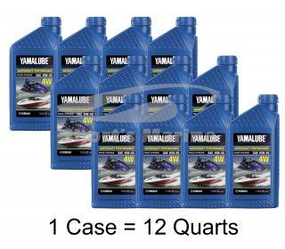 Yamaha Yamalube 10W 40 Mineral 4W 4 Stroke Watercraft Engine Oil One Quart