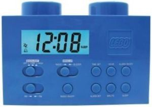 New Lego LG11007 Alarm Clock Radio Blue