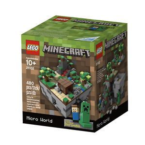 Lego Minecraft Micro World 21102 Lego Toys Steve Creeper Micromobs New 673419188067
