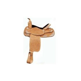"Tex Tan Simply Elegant Western Show Saddle w Silver Natural Antique 16"" Sale"
