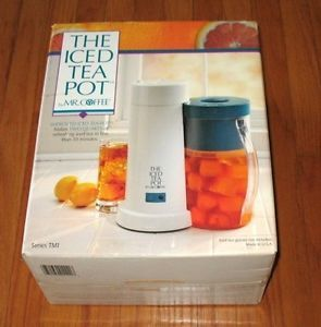 Mr Coffee Iced Tea Pot Maker Two Quart Pitcher New Ice Tea