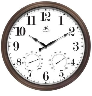 22 Large Train Station Wall Hanging Clock Dual Two Sided