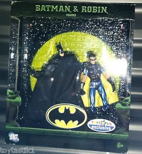 DC Super Heroes DCSH Batman Robin Blue Costume Toys R US Exclusive Two Pack
