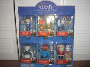 Rudolph and The Island of Misfit Toys Action Figure Collection Bonus Display
