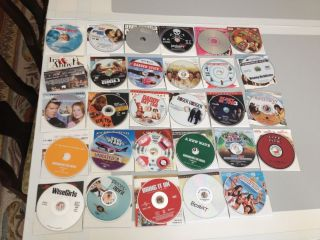 Comedy Romance DVD Movie Lot No Cases 30 Titles