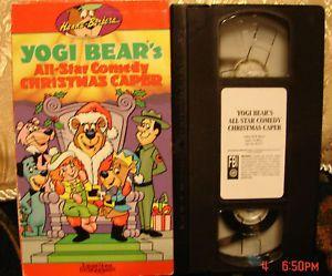 Yogi Bears All Star Comedy Christmas Caper.Yogi Bear S All Star Comedy Christmas Caper Vhs Video