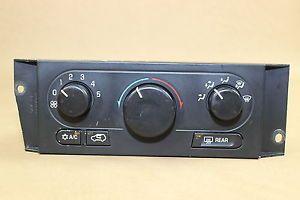 02 03 Buick Rendezvous Manual Climate Temp Control Heat Heater A C AC 10428836