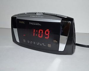 Emerson Research Smartset Clock Radio Auto Set Duel Alarm CKS5055B