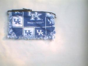 Rag Quilt Coin Change Purse University of Kentucky