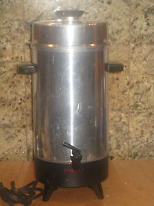 Vintage Regal Electric Percolator Coffee Maker 10 36 Cup Made in USA