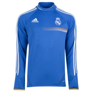 BNWT Adidas 2013 14 Real Madrid Blue Formotion L s Soccer Football Training Top