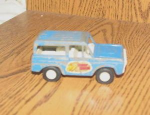 1970 Tootsie Toy Car Truck Ford Bronco