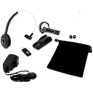 Logitech BH870 Mono Wireless Bluetooth Headset PC Cell Phones Brand New in Box