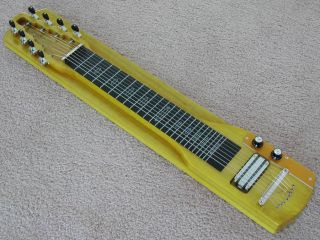 Lap Steel Guitar 8 String Console Flat Top New 2012 Slide Guitar Georgeboards