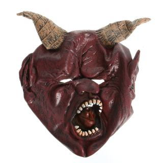 Oxhorn Mask Demon King for Halloween Masquerade Party Festival US Delivery