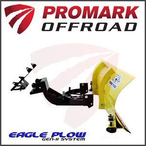 "Polaris Sportsman ATV Snow Plow Kit Complete 54"" Front Mount Kit Made in USA HB"