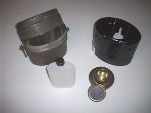 2 Trangia Lunch Box w Stove Mess Kit Swedish Army Complete Kit Camping