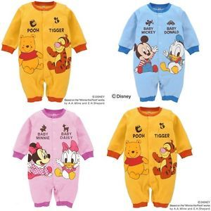 New Cute Baby Boys Girls Micky Minnie Costume Outfit Clothes for 0 18 Months