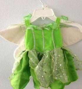 Baby Infant Girls Disney Tinkerbell Halloween Costume Size 9 Months