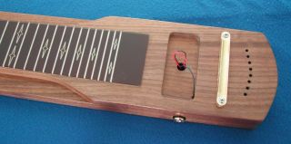Lap Steel Guitar Parts Body New Kit Build Your Own Slide Steel Guitar Finished