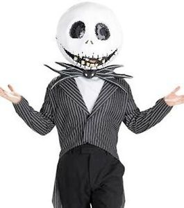 Nightmare Before Christmas Jack Skellington Costume XL Size 42 46 Fast SHIP