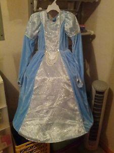 Disney Cinderella Halloween Costume with Matching Cloak Size M 10 12