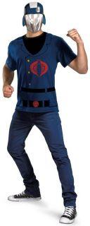 Adult Mens G I Joe Cobra Commander Easy Costume New XL XXL Cartoon 24669C