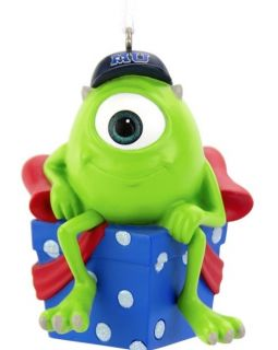 Hallmark Disney Pixar Monsters University Mike Wazowski Christmas Ornament New
