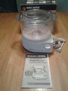 black and decker handy steamer instructions