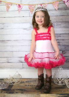 Baby Girl Boutique Clothing Birthday Dress Semi Glitz Pageant Dress Size 2T