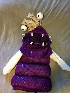 Boo from Disney's Monsters Inc Costume Halloween Homemade US Size 9 12 Months