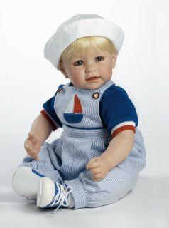 "Sail on 20"" Charisma Adora Doll New Toddler 2020923 Sailor Think Christmas"