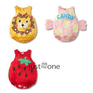 Lovely Cute Sweet Baby Toddlers Boys Girls Outfits Costume Romper Soft Cotton