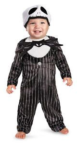 Infant Jack Skellington Baby Halloween Costume