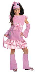 Child Size 7 8 My Little Pony Deluxe Pinkie Pie Girls Costume My Little Pony C
