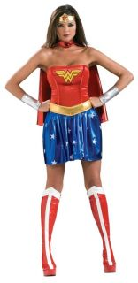 Wonder Woman Adult Womens Costume Sexy Superhero Heroine Movie Greek God Party
