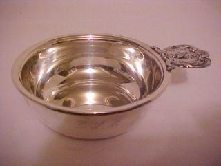 Vtg Antique Solid Sterling Silver Reed Barton Francis 1 Baby Porringer Bowl