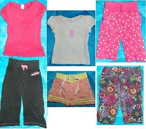 Big Lot of Girl's Size 3T Clothes Shirts Capris Pants Swim Shorts