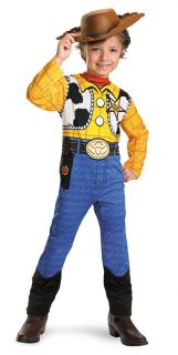 Disney Toy Story Woody Deluxe Child Costume Famous Cartoon Theme Party Halloween