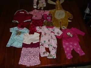American Girl Bitty Baby AA Doll w Clothes Bear