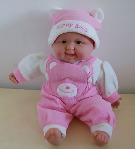 New Happy Laughing Baby Pink Doll Best Gift for Child