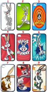 Cartoon Bugs Bunny Fans Custom Design iPhone 4 Case