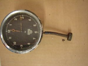 Non Working Smiths Motorcycle 8 Day Clock Triumph BSA Brough Vincent AJS