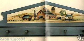 Tole Painting Book Country Landscapes Corrine Severson