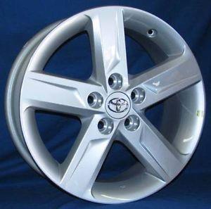 "17"" Toyota Camry 2013 OE Silver Wheels 4 Rims"