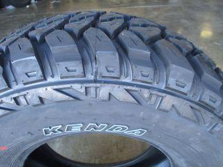 4 New 245 75R16 Kenda KR29 Mud Tires 2457516 75 16 R16 Load Range E 10 Ply M T