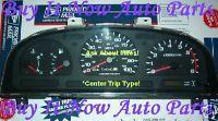 Nissan Truck Pathfinder V6 Instrument Cluster Speedometer Tach Clock 1994 1995