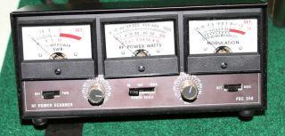 Para Dynamics Corp PDC 550 RF SWR Power Scanner Meter for CB Ham Radio